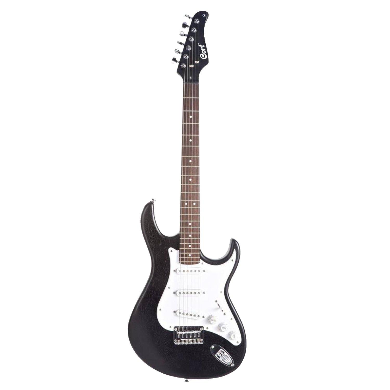cort g50 electric guitar open pore black finish. Black Bedroom Furniture Sets. Home Design Ideas