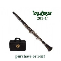 Opus Valkyrie Resonite Bb Clarinet w/Canvas Case (201C)