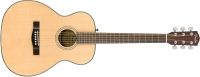 Fender CT-140SCE Travel Acoustic / Electric Guitar with Case - Natural (3962713221)