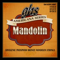 GHS Americana Series - Mandolin Cryogenically Treated Phosphor Bronze Light Set 10-38 (A255)