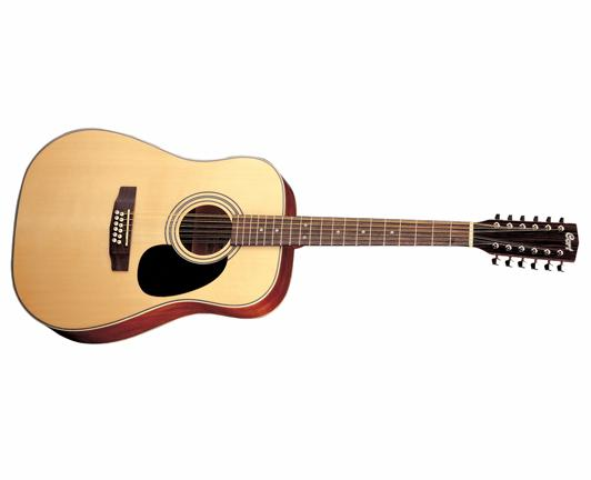 Cort Standard Series AD870 12-String Dreadnought Acoustic Guitar (AD87012)