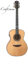 Luna Art Craftsman All Solid Grand Auditorium Acoustic / Electric Guitar (ARTCRAFTSMAN)