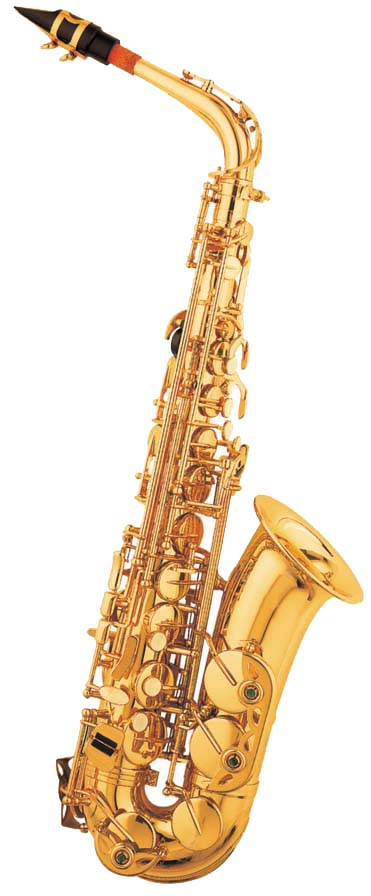 Zephyr Standard Student Alto Sax with Gold Keys Outfit (CID-1000AG)