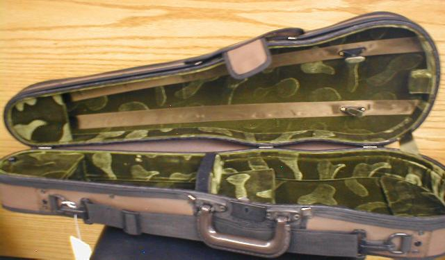 Embassy Deluxe Shaped 4/4 Violin Case STORE CLEARENCE (CID-517F)