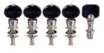 Grover Champion STA-TITE Banjo Pegs, Set of 4 (CID-75B)