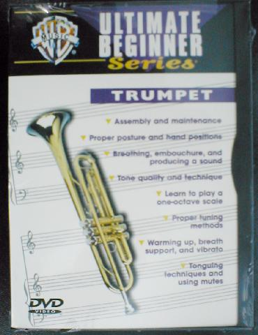 Ultimate Beginner Series - Trumpet vol.1  DVD (CID-903370)
