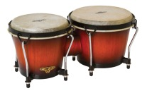 Cosmic Percussion traditional bongos, vintage sunburst (CP221VSB)