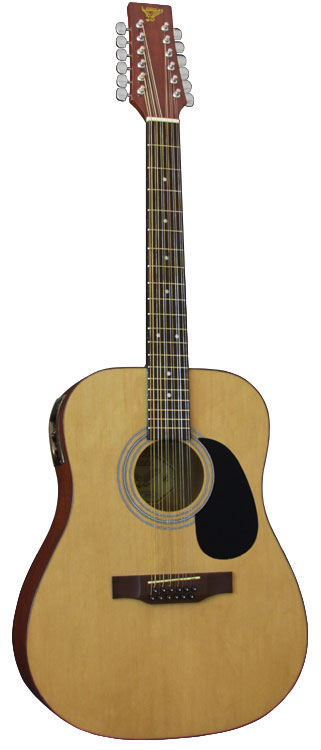 S101 12-String Dreadnought Body Acoustic Guitar (D42440DN)