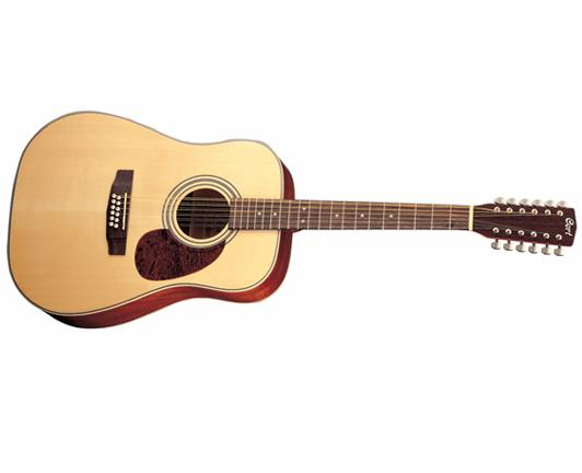 Cort Earth Series 70 12-String Acoustic Guitar w/ Solid Spruce T (EARTH7012)