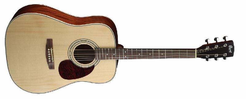 Cort Earth70 Dreadnought Acoustic Guitar w/ Solid Spruce (EARTH70NS)