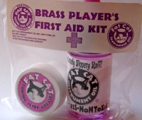 Fat Cat First Aid Kit - Valve Oil & Slide Grease (FC6)