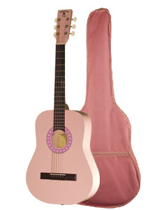"Indiana Filly Pink 36"" Guitar with Bag (FILLY)"