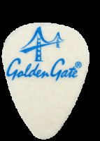 Golden Gate Ukulele Felt Picks - 3 Pack (FP1)
