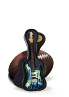 Seattle Seahawks Miniature Guitar - Official NFL Licensed (GMNFL29)