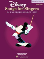 Disney Songs for Singers - Revised Edition High Voice (HL00740295)