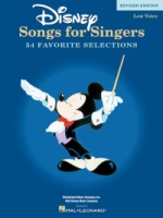 Disney Songs for Singers - Revised Edition Low Voice (HL00740296)