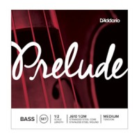 D'addario Prelude Bass Single D String, 1/2 Scale, Medium Tension (J61212M)