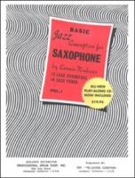 Jazz Conception Saxophone, Basic Volume 1 w/CD - Niehaus (JA9781934638002)