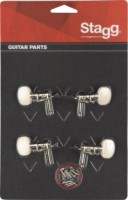 Stagg Ukulele Tuning Machine 2 + 2 Standard (KU259)