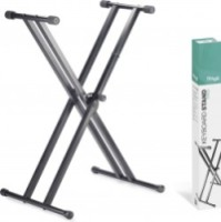 Stagg Double Braced X-style Keyboard Stand (KXSQ5)