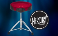 Mercury Red Top Drum Throne by ddrum (MRTT)