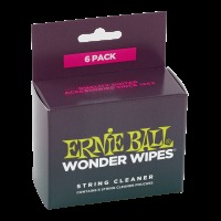 Ernie Ball Wonder Wipes String Cleaner 6 Pack (P04277)