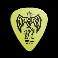Ernie Ball Everlast Guitar Picks - .88mm Green (P09191)