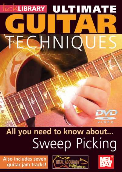 Ultimate Guitar Techniques: Sweep Picking  DVD (RDR0064)