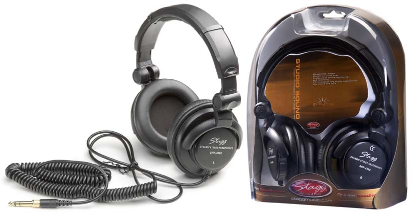 Stagg Studio Sound Professional Audio Monitoring Headphones (SHP4500)