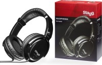 Stagg Pro DJ/ Monitor, Closed-Back, Stereo Headphones With Circumaural Ear Pads (SHP5000H)