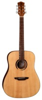 Luna Wabi Sabi Solid Top Dreadnought Guitar (WABID)