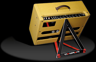 standback amplifier tiltback support stand. Black Bedroom Furniture Sets. Home Design Ideas