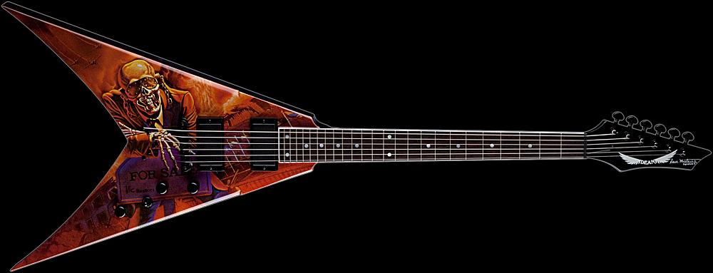 dean dave mustaine v guitar peace sells. Black Bedroom Furniture Sets. Home Design Ideas