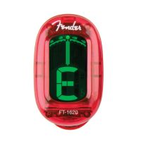 Fender® California Series Candy Apple Red Clip-On Tuner (0239981009)