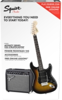 Squier Affinity Series™ Stratocaster® HSS Pack - Brown Sunburst (0301814032)