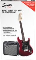 Squier Affinity Series™ Stratocaster® HSS Pack - Candy Apple Red (0371824009)