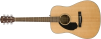 Fender CD-60S LH Dreadnought Left Handed Acoustic Guitar - Natural (0961703021)