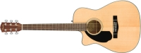Fender CC-60SCE Concert Left Handed Acoustic / Electric Guitar - Natural (0961711021)
