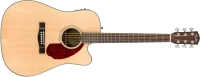 Fender CD-140SCE Dreadnought Acoustic Guitar w/ Case - Natural (0962704221)
