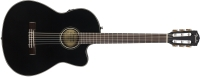 Fender CN-140S Classical Acoustic / Electric Guitar with Case - Black (0962714206)