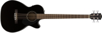 Fender CB-60SCE Acoustic / Electric Bass - Black (0970183006)