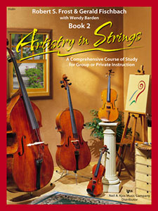 Artistry In Strings By Frost, Fischbach & Barden Book 2 (101AIS2)