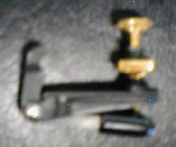 Buschman Extra Wide Violin Fine Tuner Adjuster 4/4 Black & Gold (102EGXB)