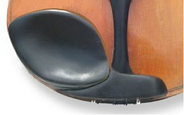 GelRest Violin Chin Rest Cushion - Black (1114GELBK)