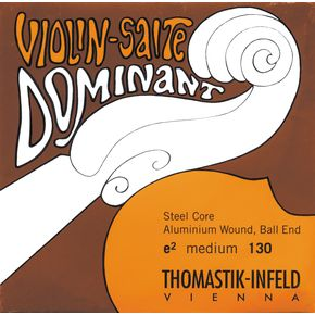 "Thomastik Dominant Violin ""E"" Ball End - 4/4 (130B4/4)"