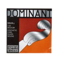 "Thomastik Dominant Violin ""G"" Silver Wound Ball End - 4/4 (13344G)"