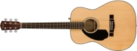 Fender CC-60S Concert Left Handed Acoustic Guitar - Natural (1961709021)