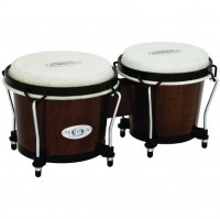 Toca Synergy Wood Bongos - Tobacco (2100TOB)