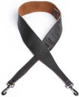 D'Addario Garment Leather Banjo Strap with Coated Metal Hooks (25SLBNJ02DX)