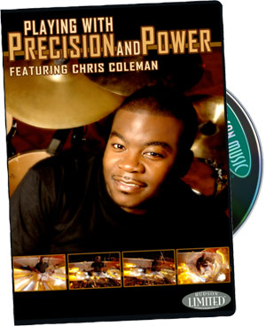 Chris Coleman: Playing with Precision and Power  DVD (320713)